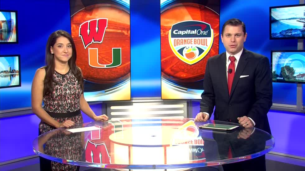 Badgers to face Miami Hurricanes in the Orange Bowl December 30