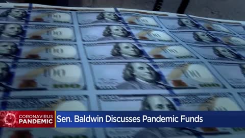 Sen. Tammy Baldwin discusses small business funds in virtual event