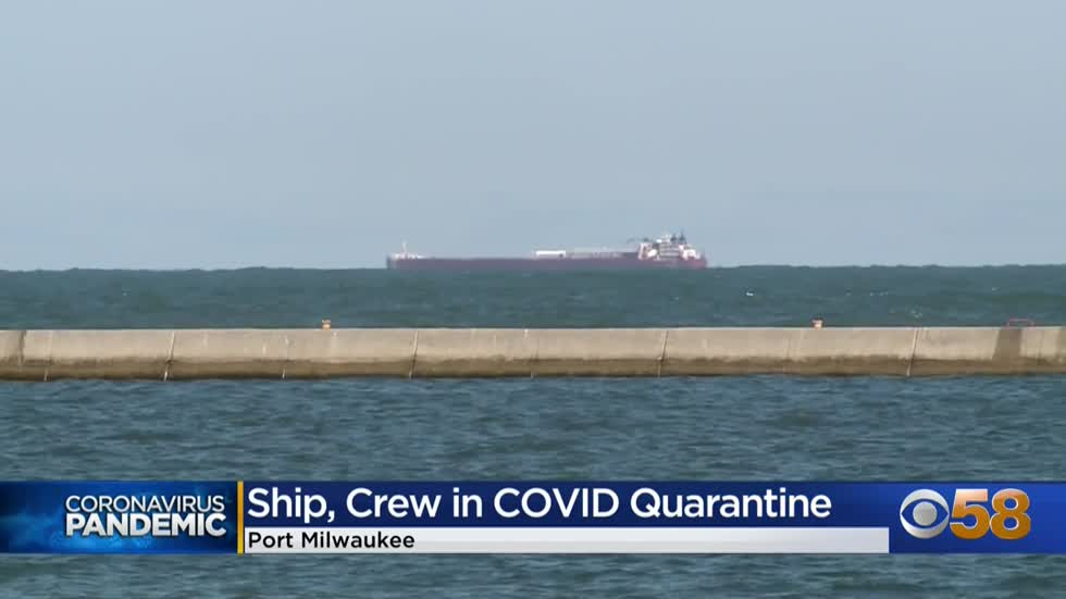 Tug vessel 'Presque Isle' and crew to quarantine at Port Milwaukee due to COVID-19 outbreak
