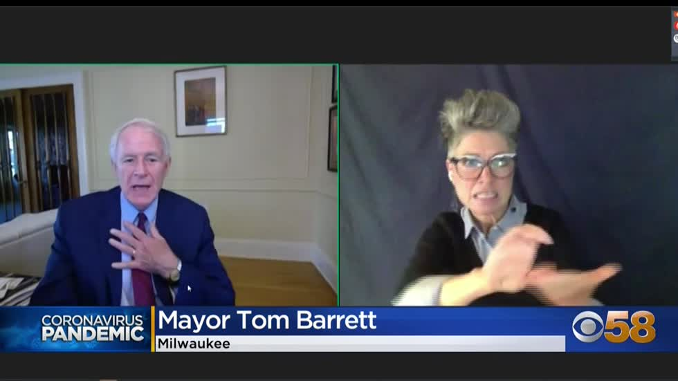 Mayor Barrett discusses city's plan to spend American Rescue...