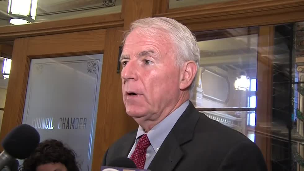 "Mayor Barrett: budget plan involves ""historic"" investment in lead removal programs"