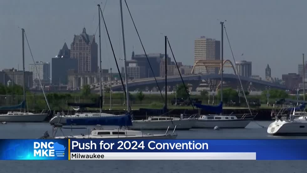 Mayor Barrett says Milwaukee will 'leave the lights on' for 2024 convention