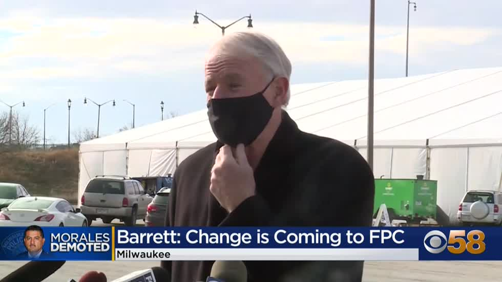 Mayor Barrett promises change is coming to Milwaukee's FPC