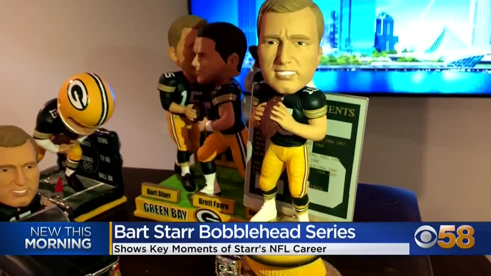 National Bobblehead Musum released Bart Starr Bobblehead series