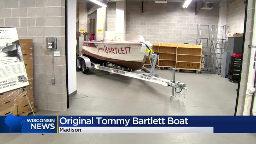 Wisconsin Historical Society to display Tommy Bartlett show boat