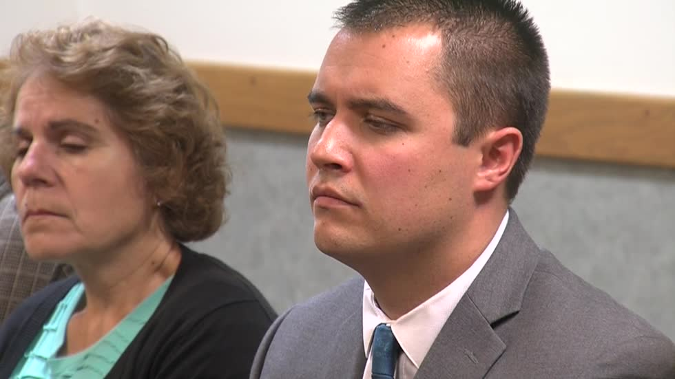 Former Burlington officer appears in court, accused of sexual assault