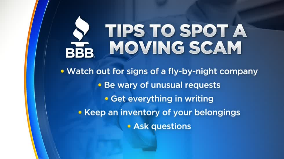 Wisconsin BBB discusses moving scams, how to protect yourself
