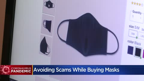 BBB: Be careful buying masks online