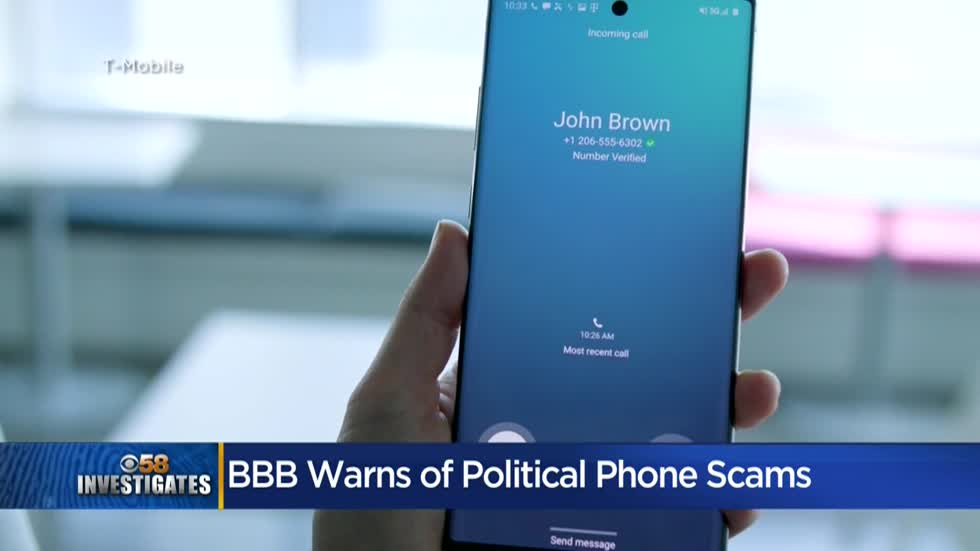 BBB warns of phony political fundraising robocalls
