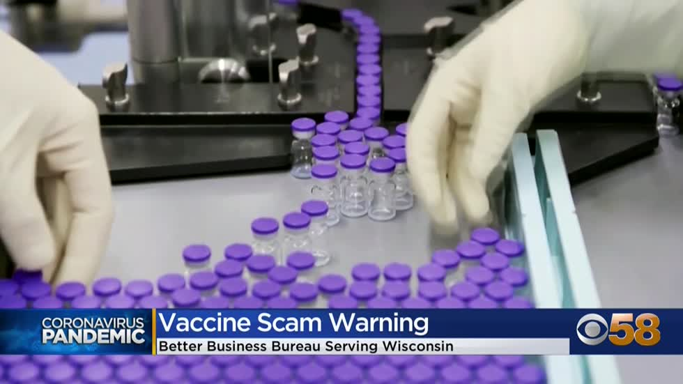 BBB: Watch out for COVID vaccine scams