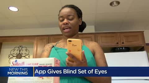 """A game changer:"" App helps visually impaired see through volunteer's eyes"