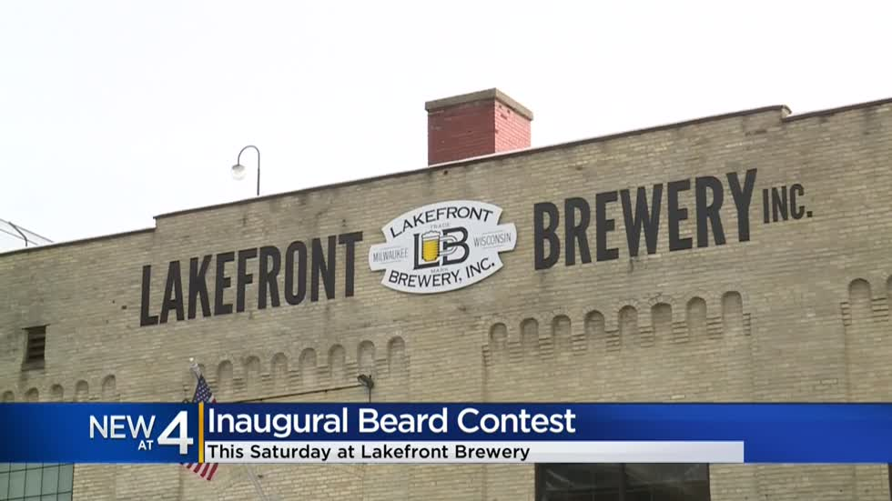 Lakefront Brewery to host inaugural beard contest 🧔