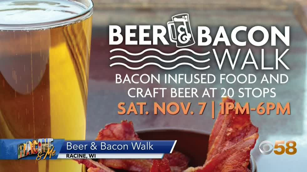 Beer and Bacon Walk 🍺🥓
