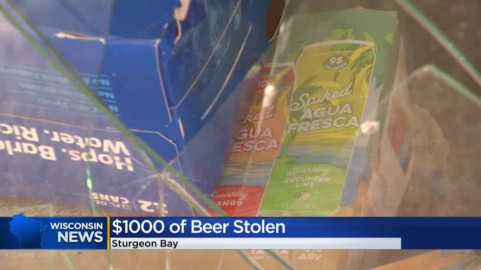 $1,000 worth of beer stolen from cooler at Door County Fairgrounds