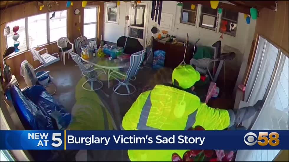 'If only I had turned around': Victim of Beloit burglary...