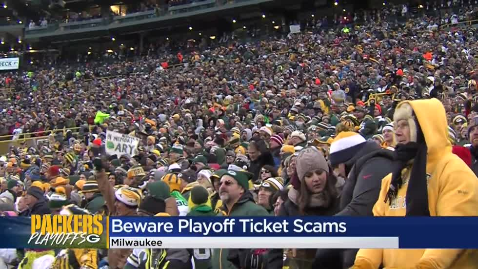BBB: 'Use extreme caution' when buying tickets during Packers' playoff run