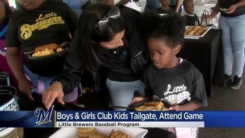 """Those funds really help us:"" Boys & Girls Clubs given check for summer baseball leagues"