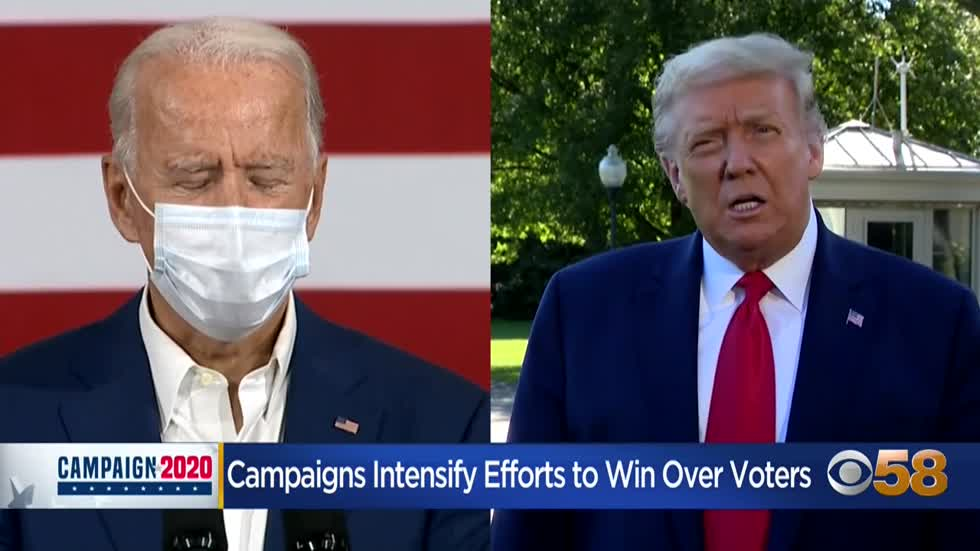 Supporters host Biden carpool campaign event in Milwaukee, Trump campaign responds