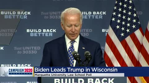 Joe Biden leads Donald Trump 49-44 in Marquette Law Poll