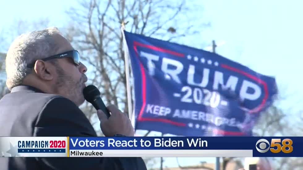 Milwaukee Democrats tell President Trump 'you're fired,' while GOP voters vow not to give up