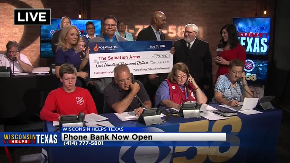 UPDATE: CBS 58 and Salvation Army raise over $181,000