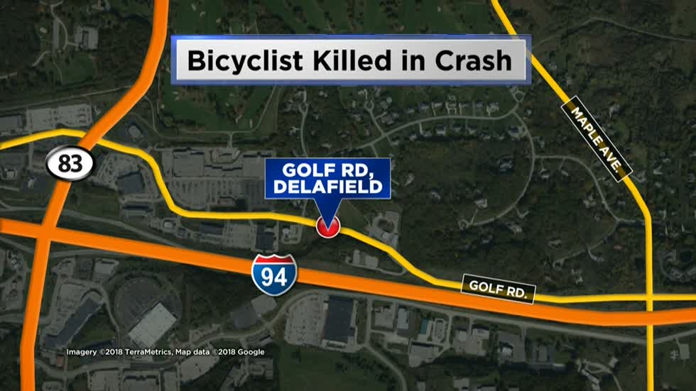 Bicyclist hit, killed by vehicle in Town of Delafield