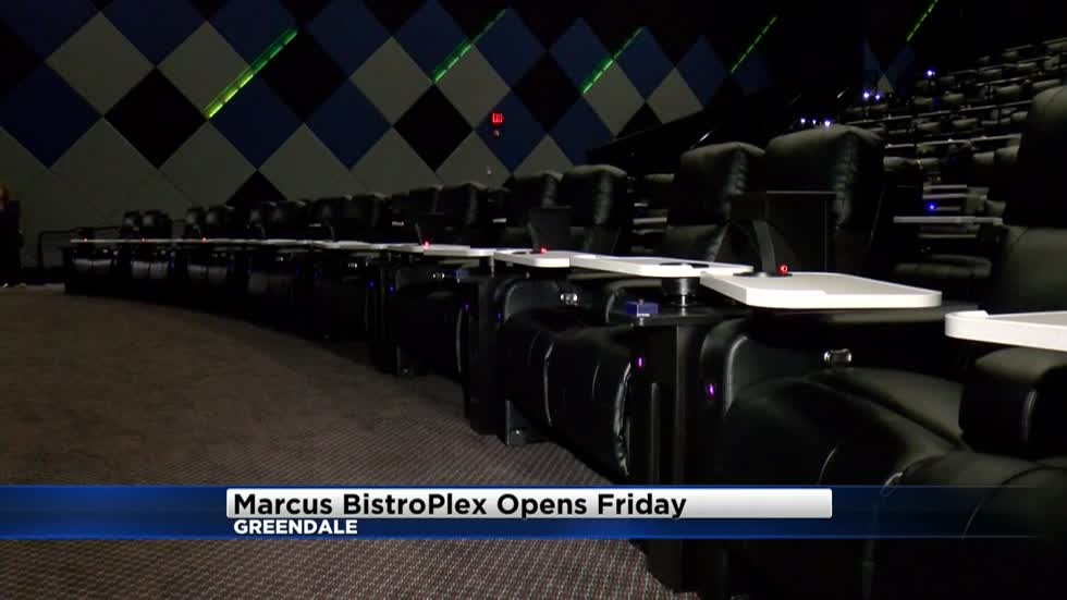 """We've never built a building like this:"" Marcus BistroPlex opens Friday"