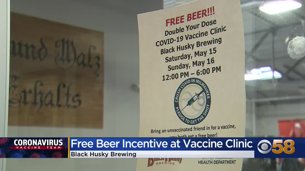 Black Husky Brewing in Riverwest hosts first day of its own vaccine...