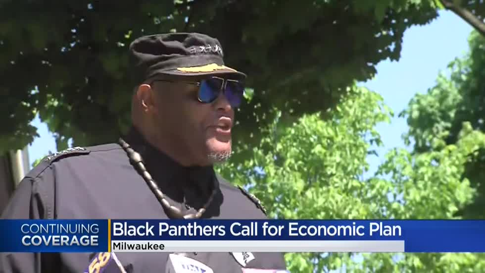 Black Panthers of Milwaukee call on young people to 'flip the script' in wake of unrest