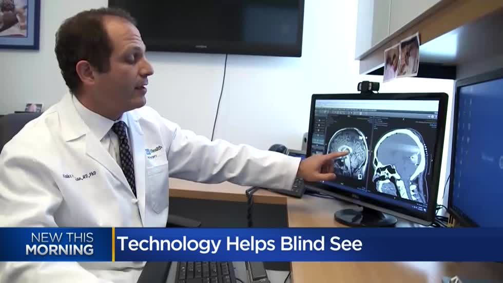 Scientific breakthrough may eventually allow many blind people to see