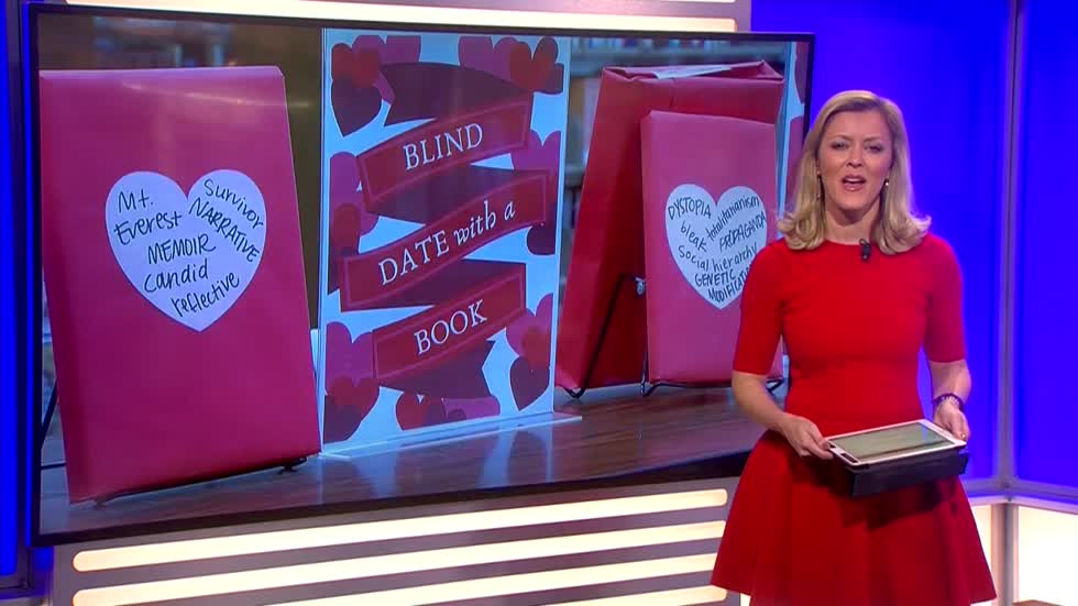 Go on a blind date with a book at the West Allis Public Library