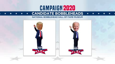 National Bobblehead Hall of Fame and Museum releases 2020 presidential candidate bobbleheads