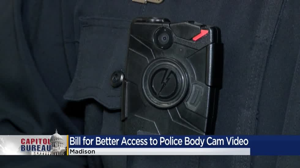 Officials consider bill providing better access to police body cam footage