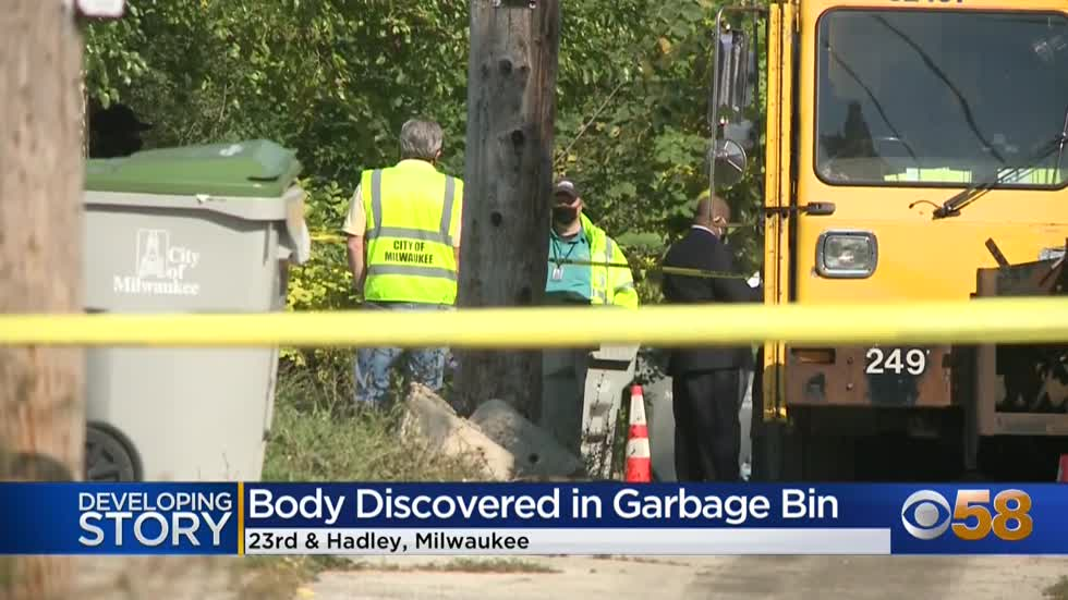 Police: DPW worker finds body inside garbage cart near 23rd and Hadley