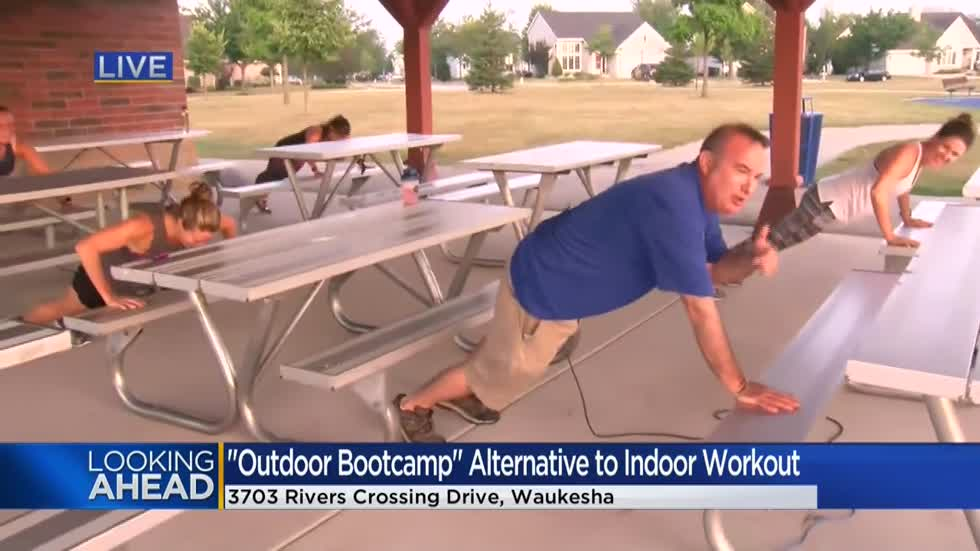 "Waukesha's ""Outside Boot Camp"" lets the great outdoors be your gym"