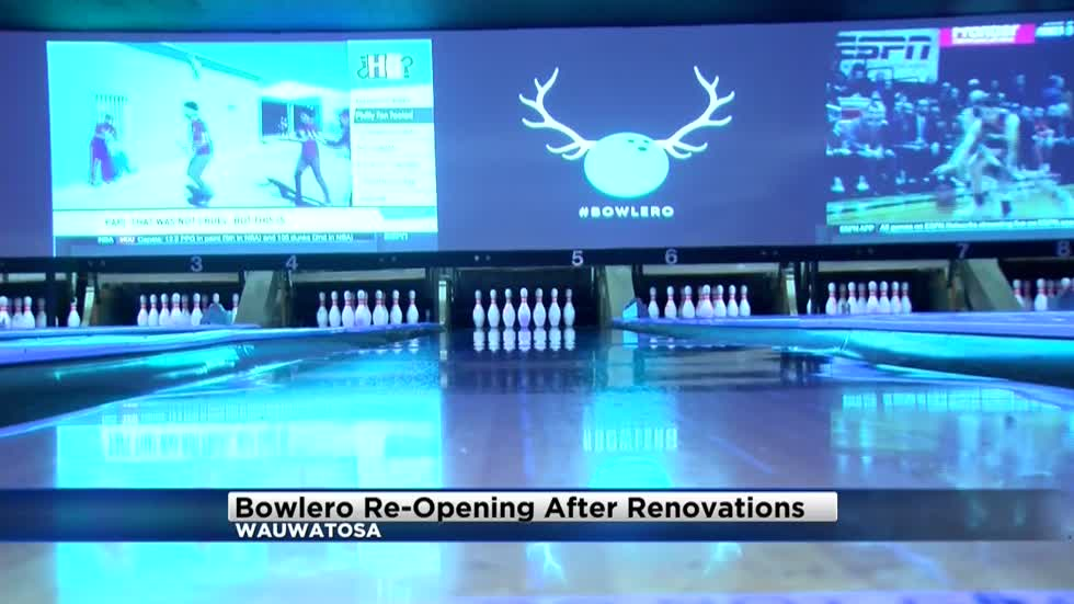 Bowlero hosting grand re-opening after million dollar renovation project