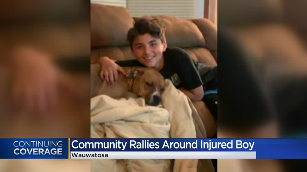 'He's a fighter': Wauwatosa teen hit by train fights for his life as community rallies in support