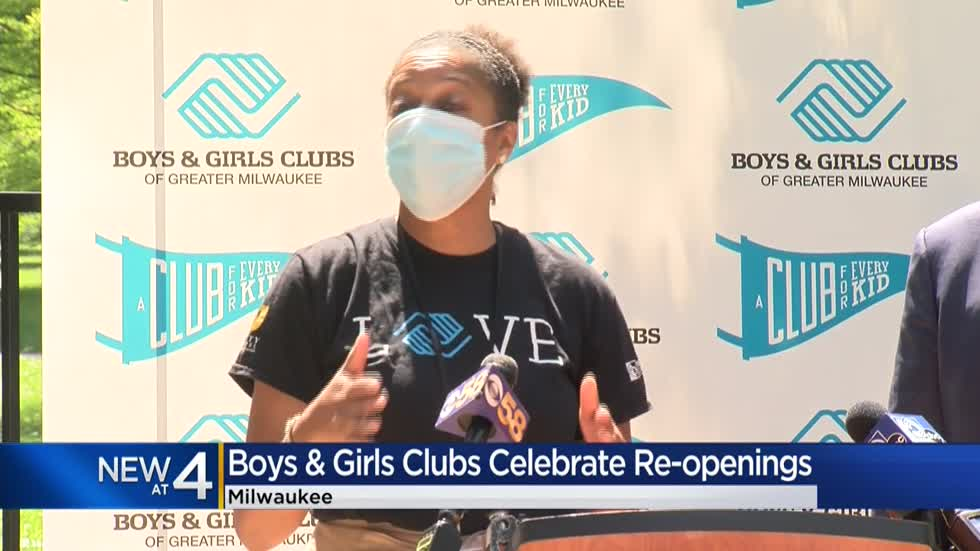 Boys & Girls Club of Greater Milwaukee celebrates reopening of 70-percent of locations