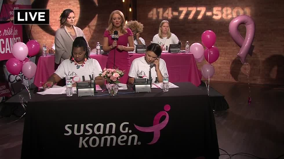 CBS 58 and Susan G. Komen Breast Cancer Awareness Support Line