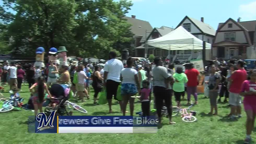 Free bike initiative aims to get families moving