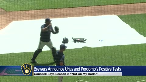 Brewers' Luis Urias, Angel Perdomo asymptomatic after testing...