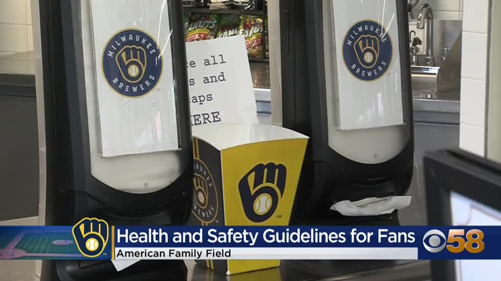 Brewers unveil food, safety and concession changes at American Family Field