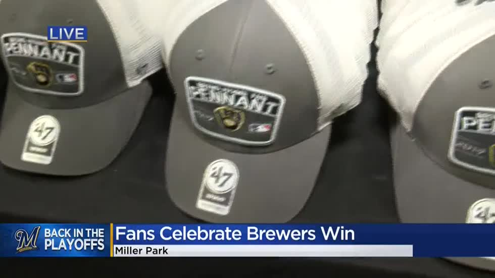 Brewers clinch playoff spot with win over Reds