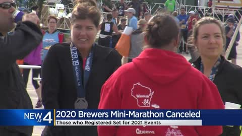 Milwaukee Brewers 2020 Mini-Marathon canceled