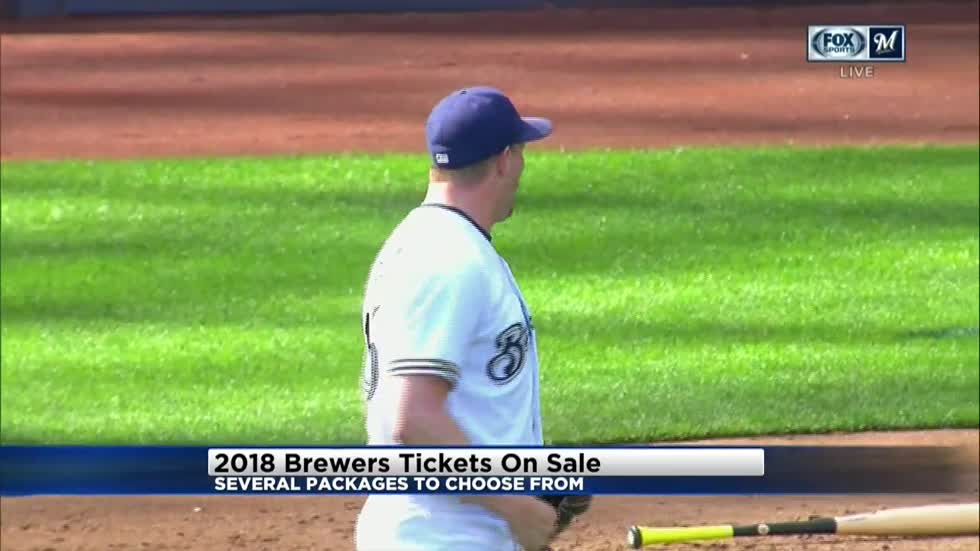 Brewers 10-Pack Plan on sale