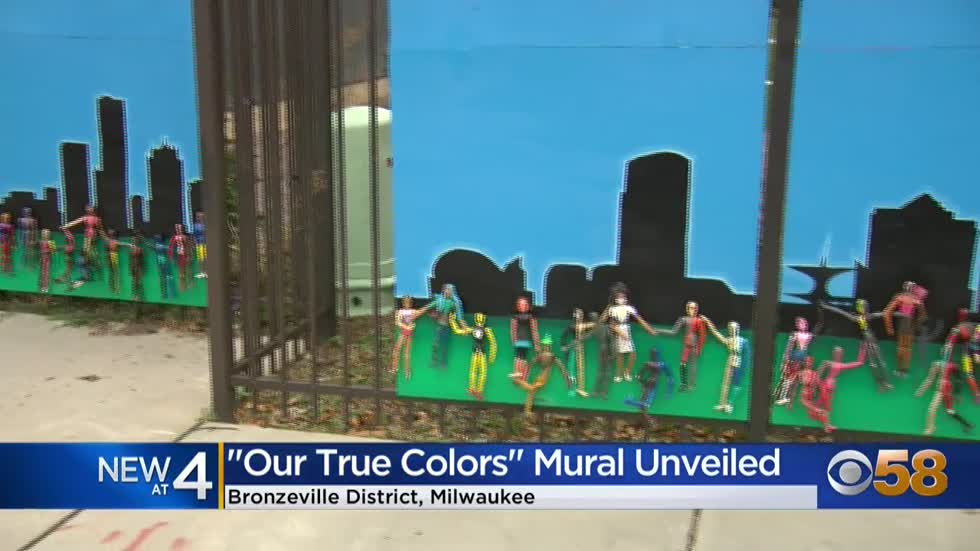 New mural unveiled in Milwaukee's Bronzeville district created...