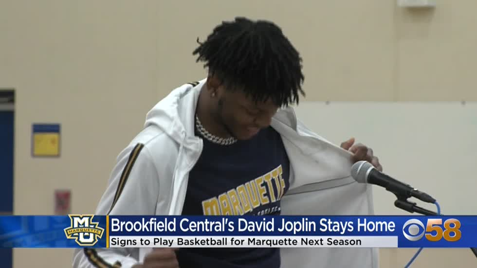 Brookfield Central's David Joplin signs with Marquette