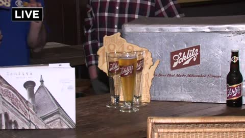 "It's 80 years of ""sudsy success"" for The Brown Bottle & Schlitz"
