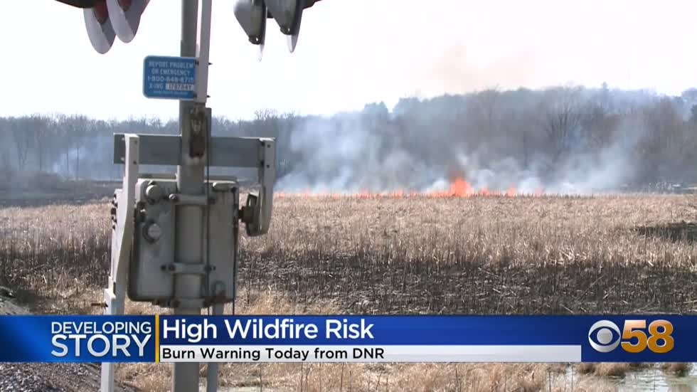 High fire danger across Wisconsin; DNR urges extra caution this Easter weekend