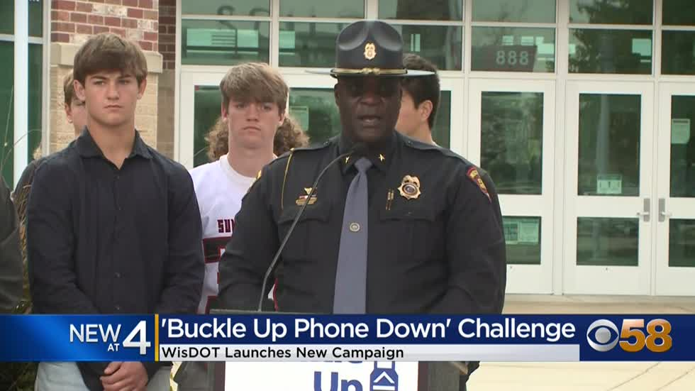 Wisconsin DOT launches 'Buckle Up, Phone Down' campaign to...